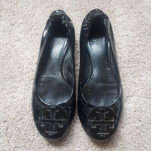Tory Burch Classic Black Ballet Flats Size 6.5
